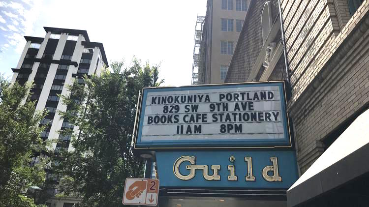 Kinokuniya Bookstore Opens in Portland