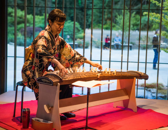 Portland Japanese Garden to Host Holiday Koto Concerts