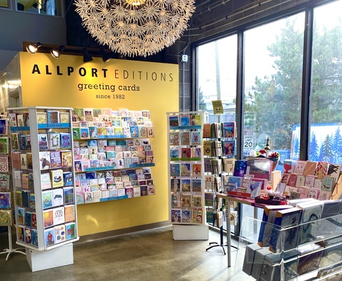 Encouraging News From Allport Editions